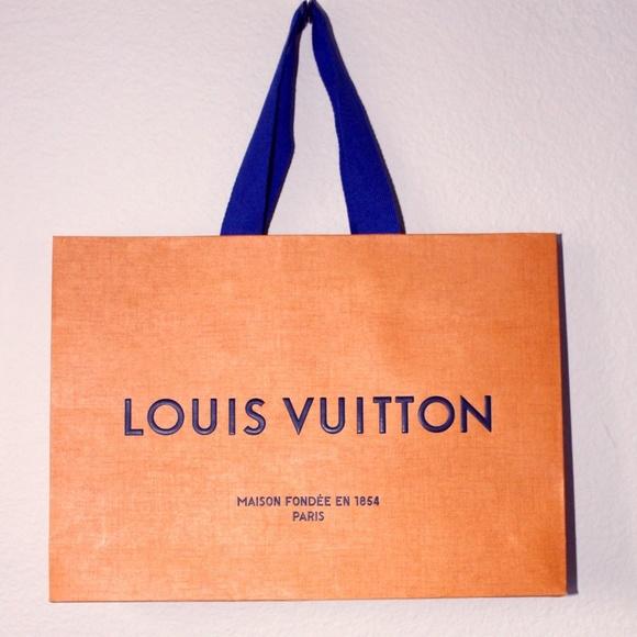 Louis Vuitton Shopping Gift Bag